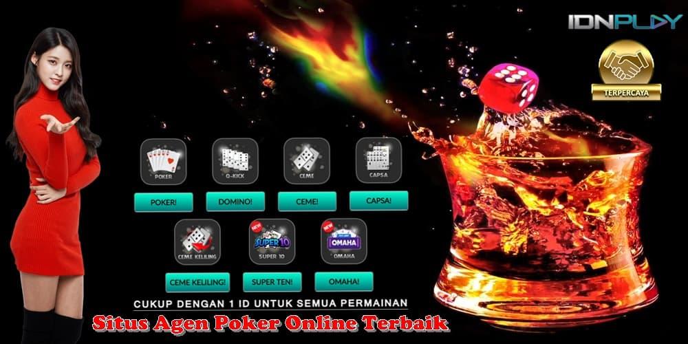 Situs Agen Poker Online Terbaik